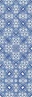 Decorative color ceramic azulejo tiles.