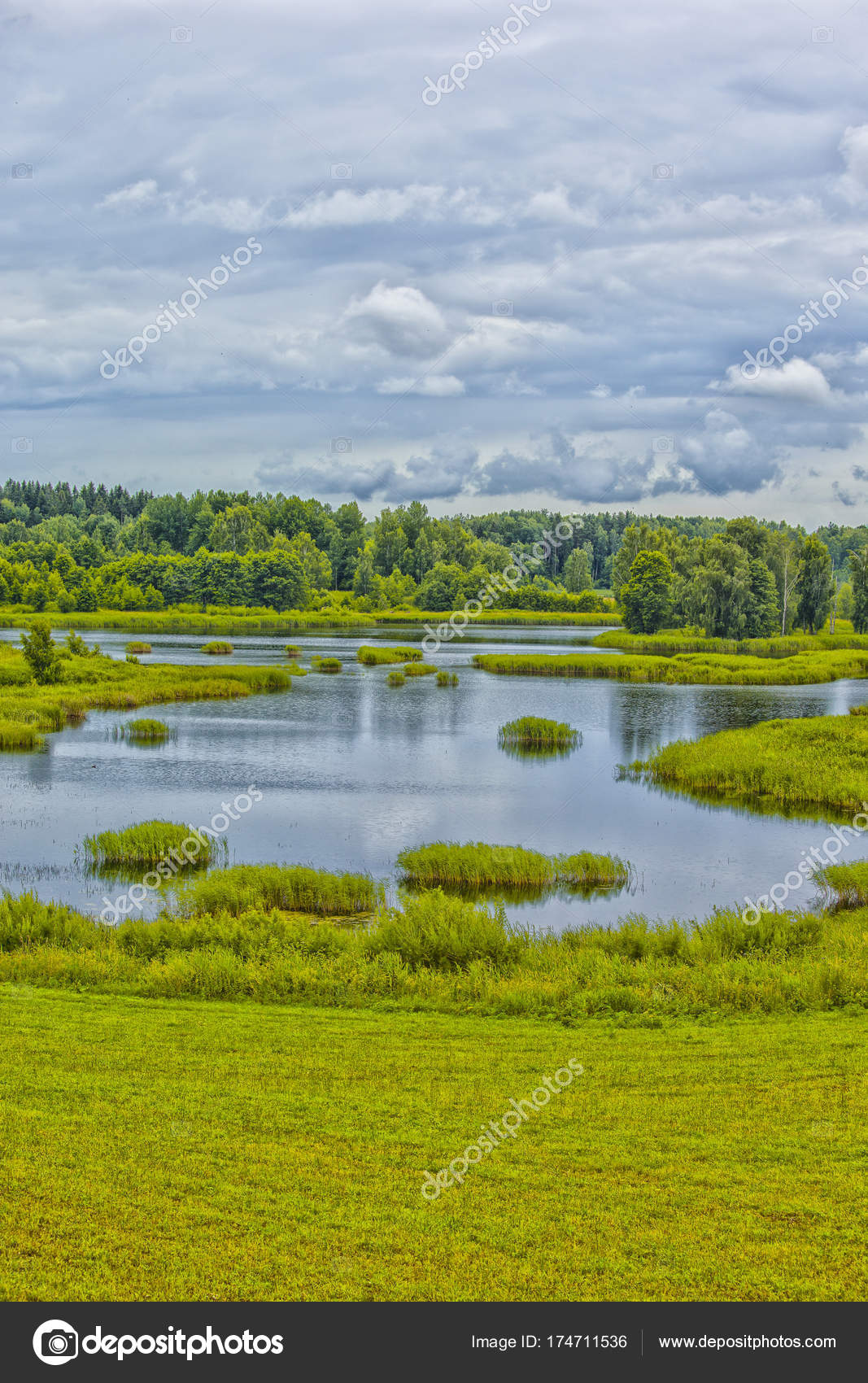 Оформить озеро на участке своими руками реально: советы по 4