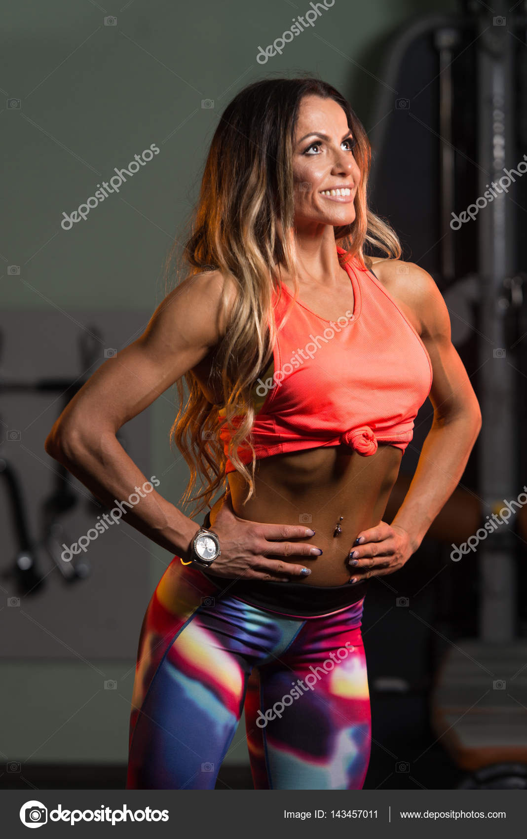 Sexy Fitness Woman Posing In Gym Stock Photo C Ibrak 143457011 It involves looking at your body as a holistic system in which all of its parts are related. sexy fitness woman posing in gym stock photo c ibrak 143457011