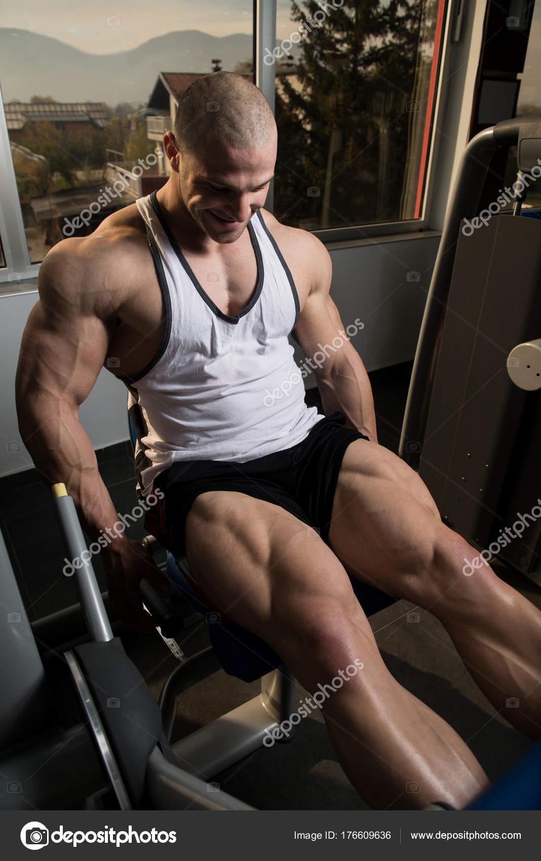 ejercicios de pierna gym