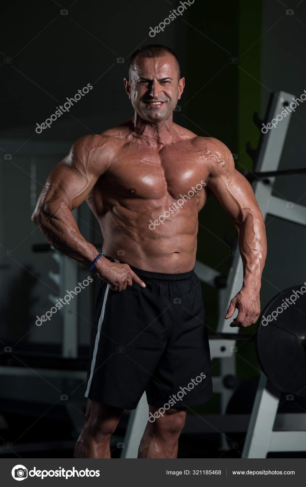 Mann trainierter körper Körperfettanteil beim