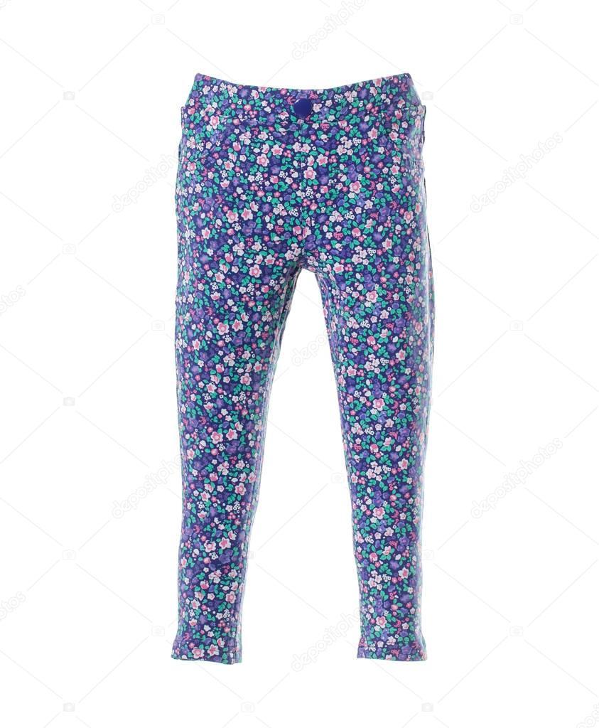 Super Specials verschiedene Stile weltweit verkauft Blaue Jeans mit floralem Muster. — Stockfoto © indigolotos ...