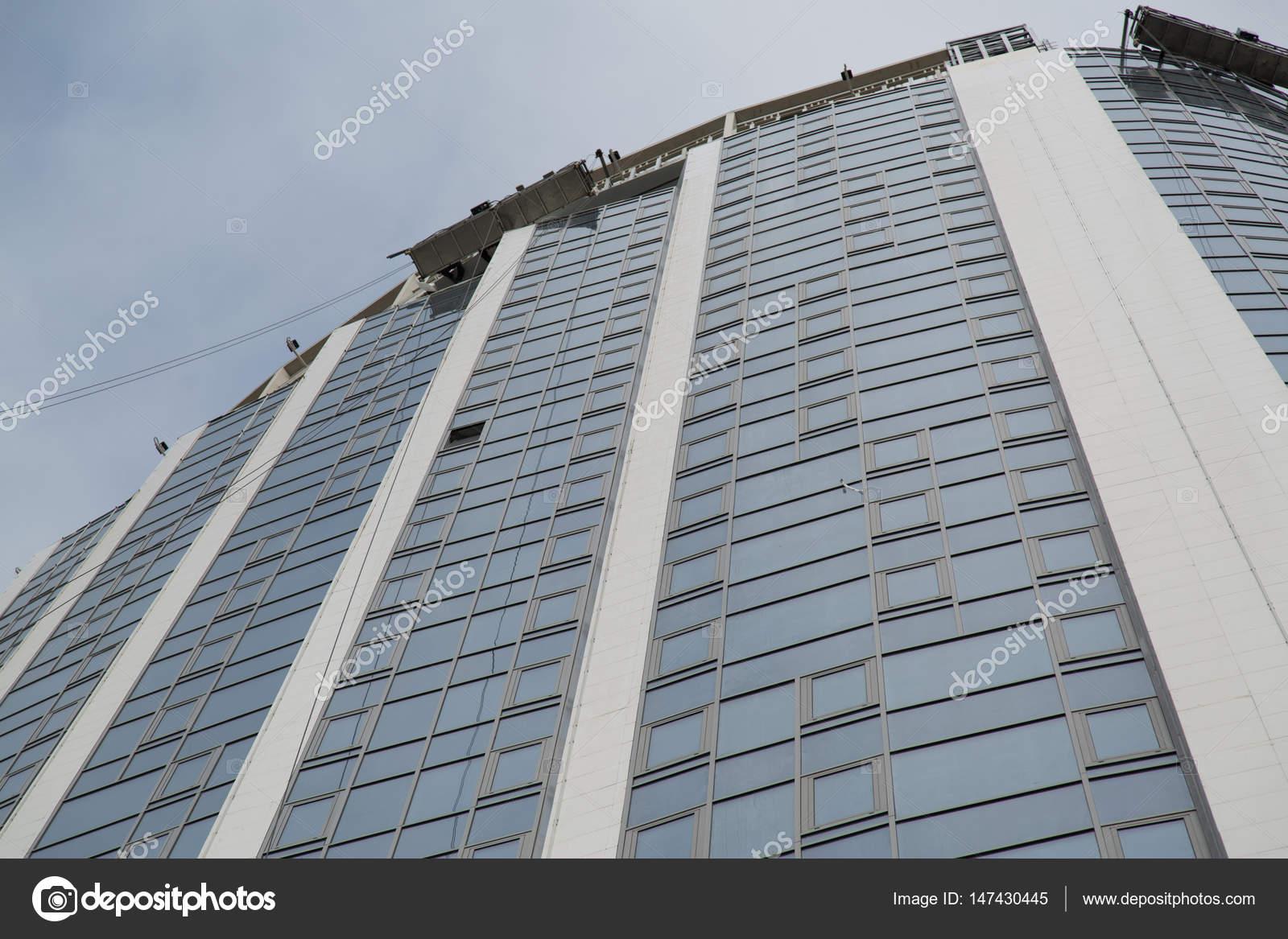 Das Neue Haus Aus Glas Und Beton Redaktionelles Stockfoto