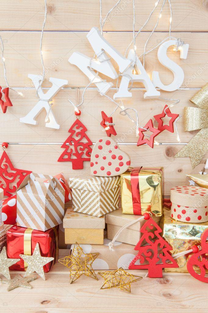 Kleine Geschenke Für Weihnachten Stockfoto Barbaraneveu 125950092