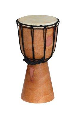 Bongo bongo isolated on white background