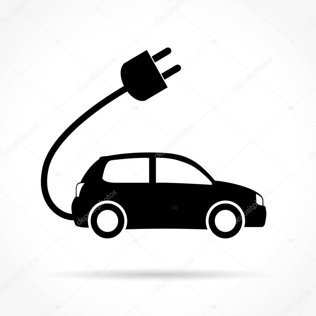 Electric Self Driving Car Icon Png