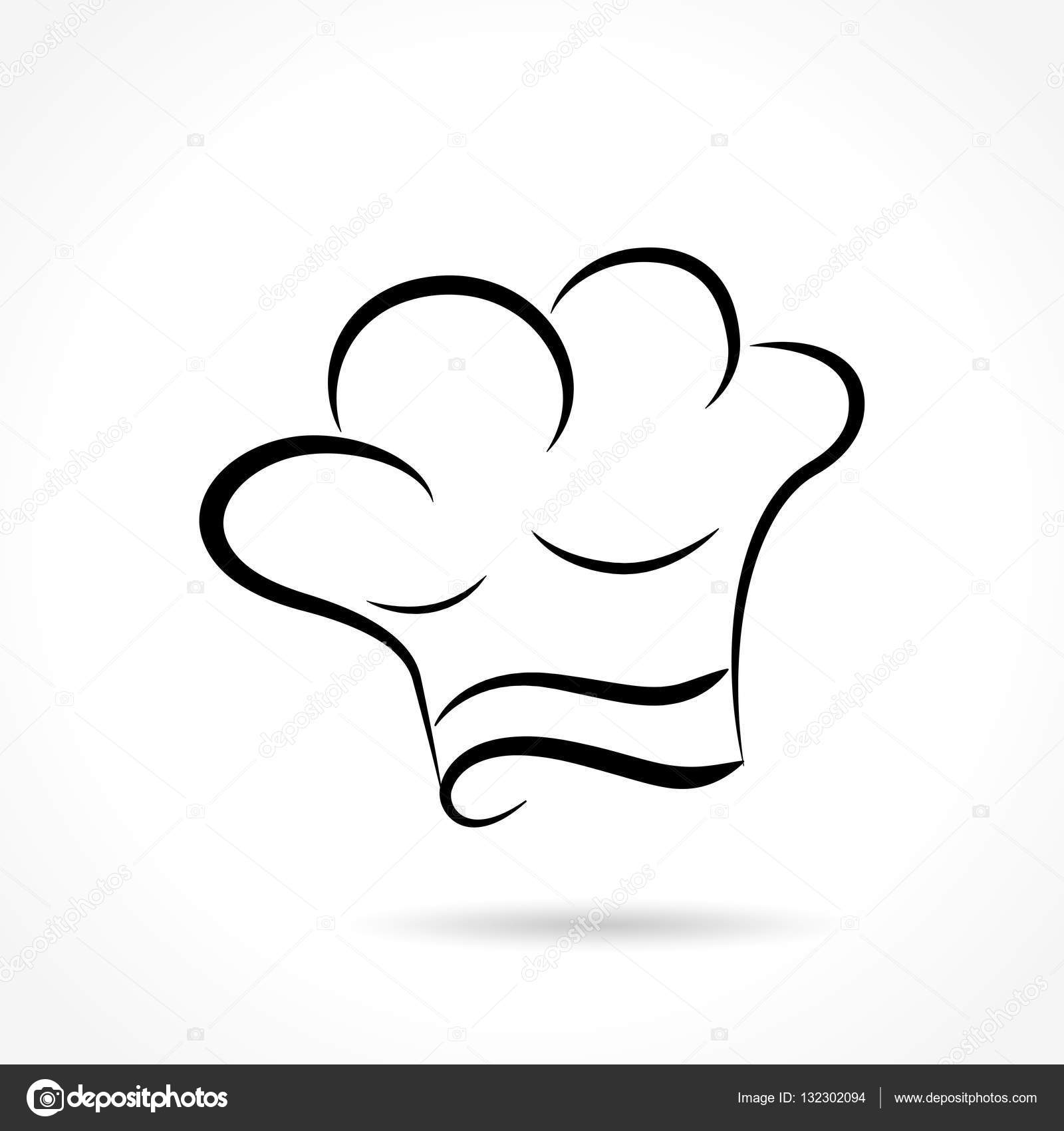 b17dc349bc8c6 Illustration of chef hat on white background — Vector by nickylarson