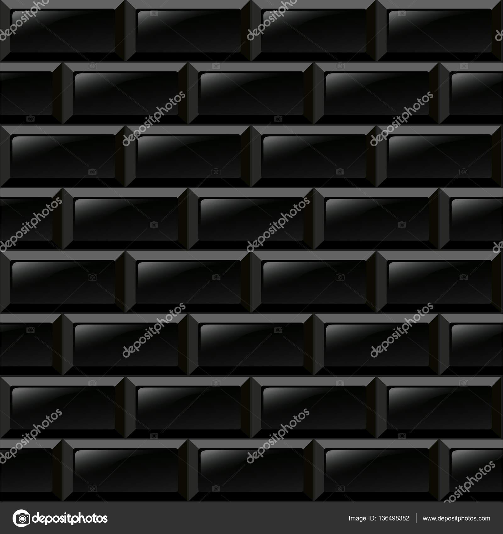 Schwarze Fliesen schwarze fliesen backgroud stockvektor nickylarson 136498382