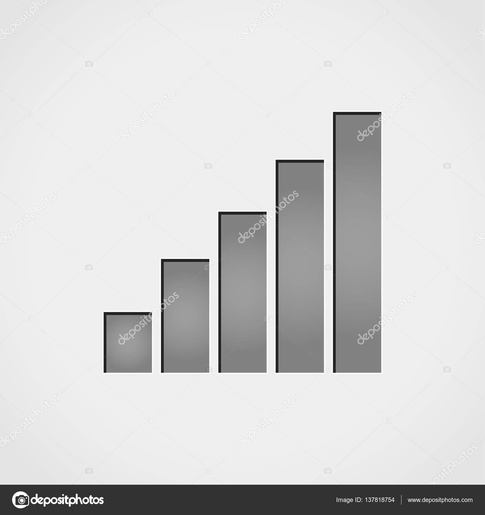 graue Balken-Symbol — Stockvektor © nickylarson #137818754