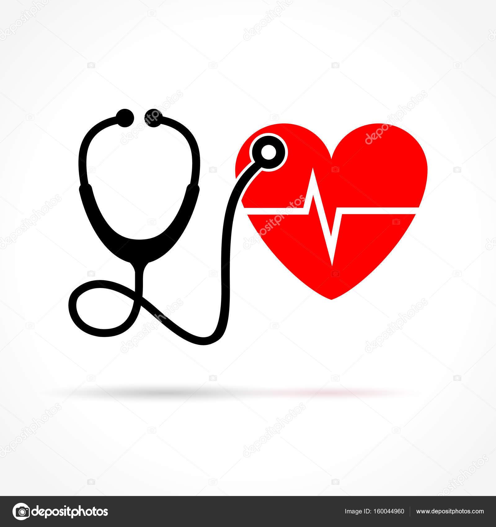 Tatuajes De Electrocardiograma Con Estetoscopio Estetoscopio Y