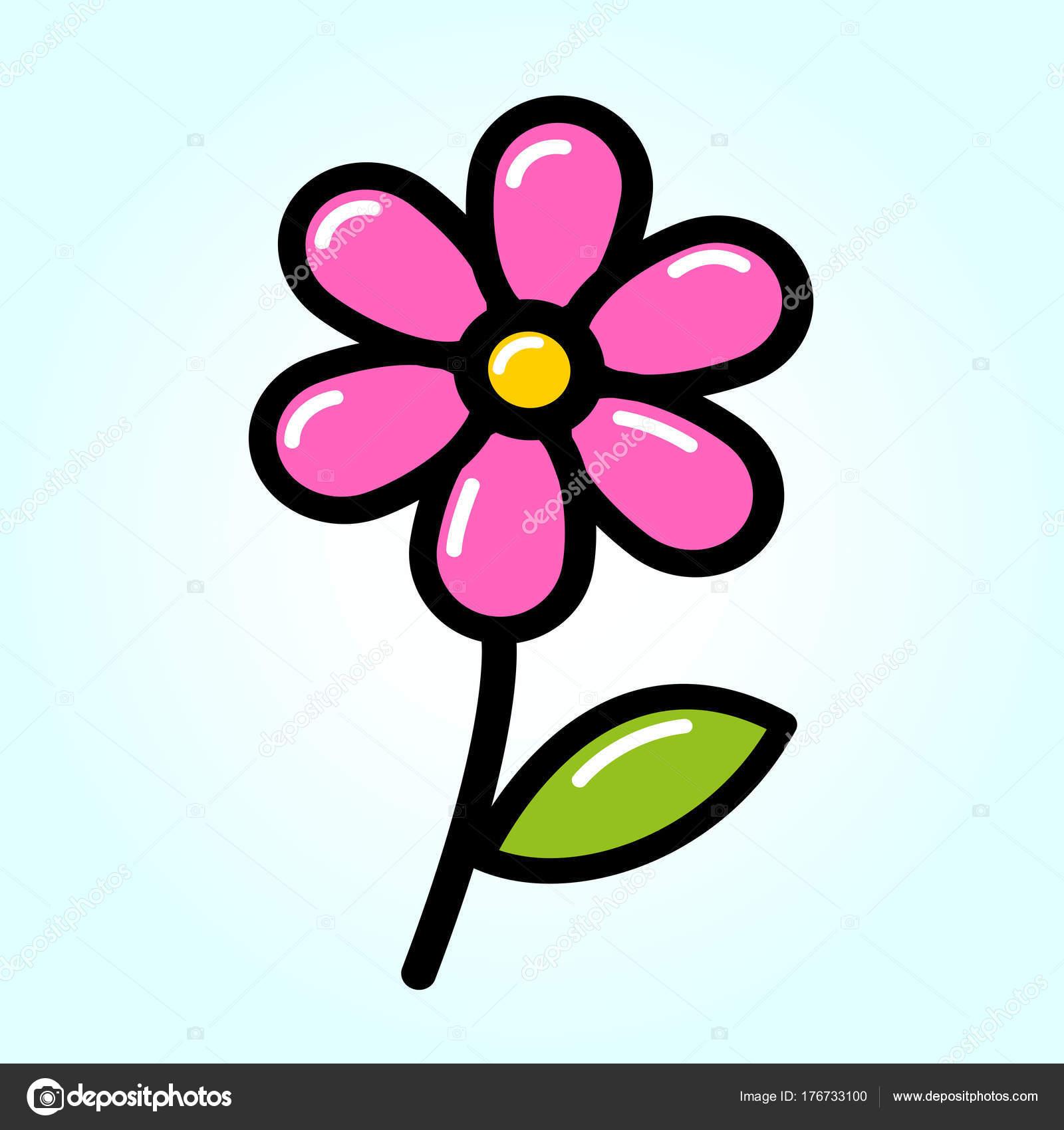 Notion De Dessin Fleur Rose Image Vectorielle Nickylarson C 176733100