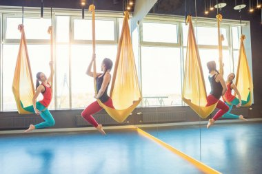 hammocks for  Anti-gravity air flying yoga