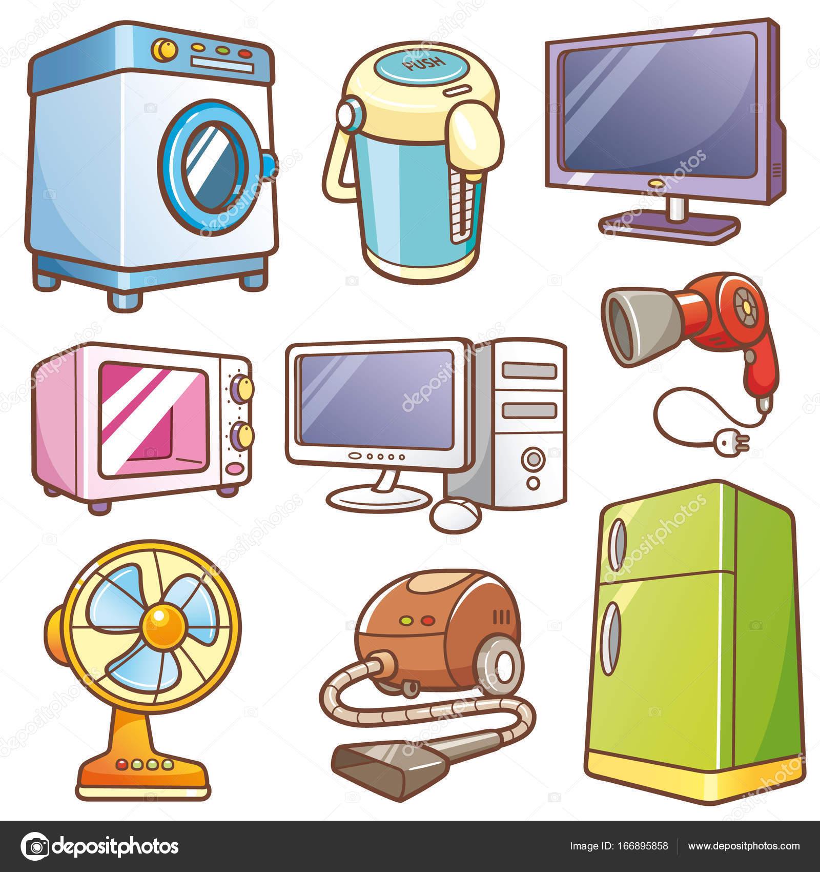 Dibujos Animados Electronicos Electrónica De La Casa De Los
