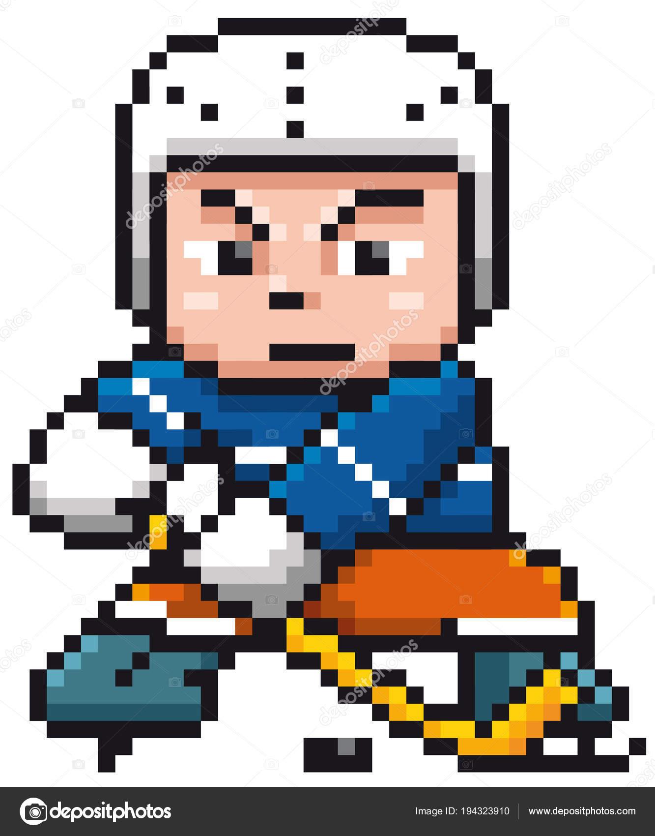 Illustration Vectorielle Joueur Hockey Sur Glace Dessin
