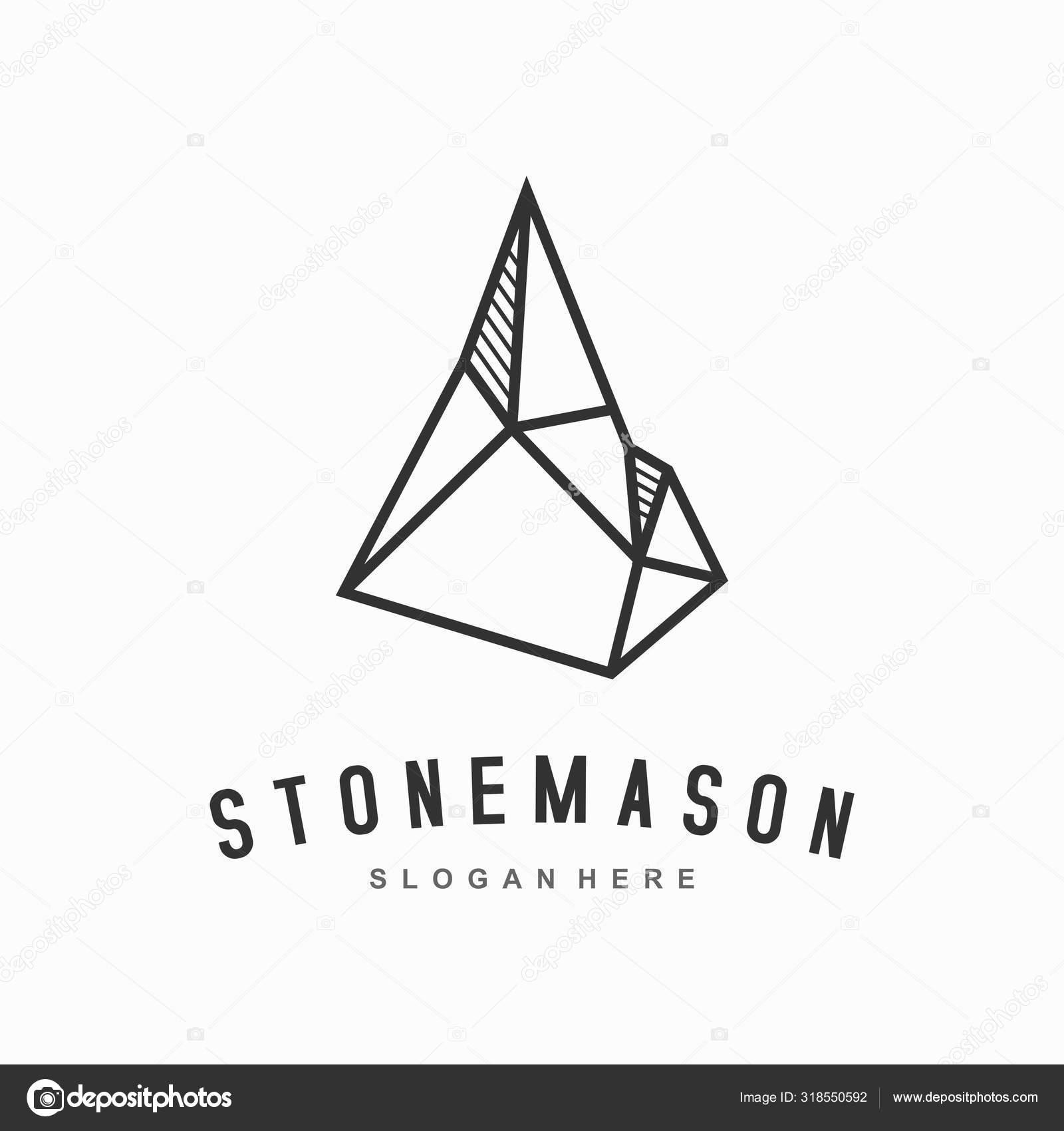 Geometric Line Art Template from st3.depositphotos.com