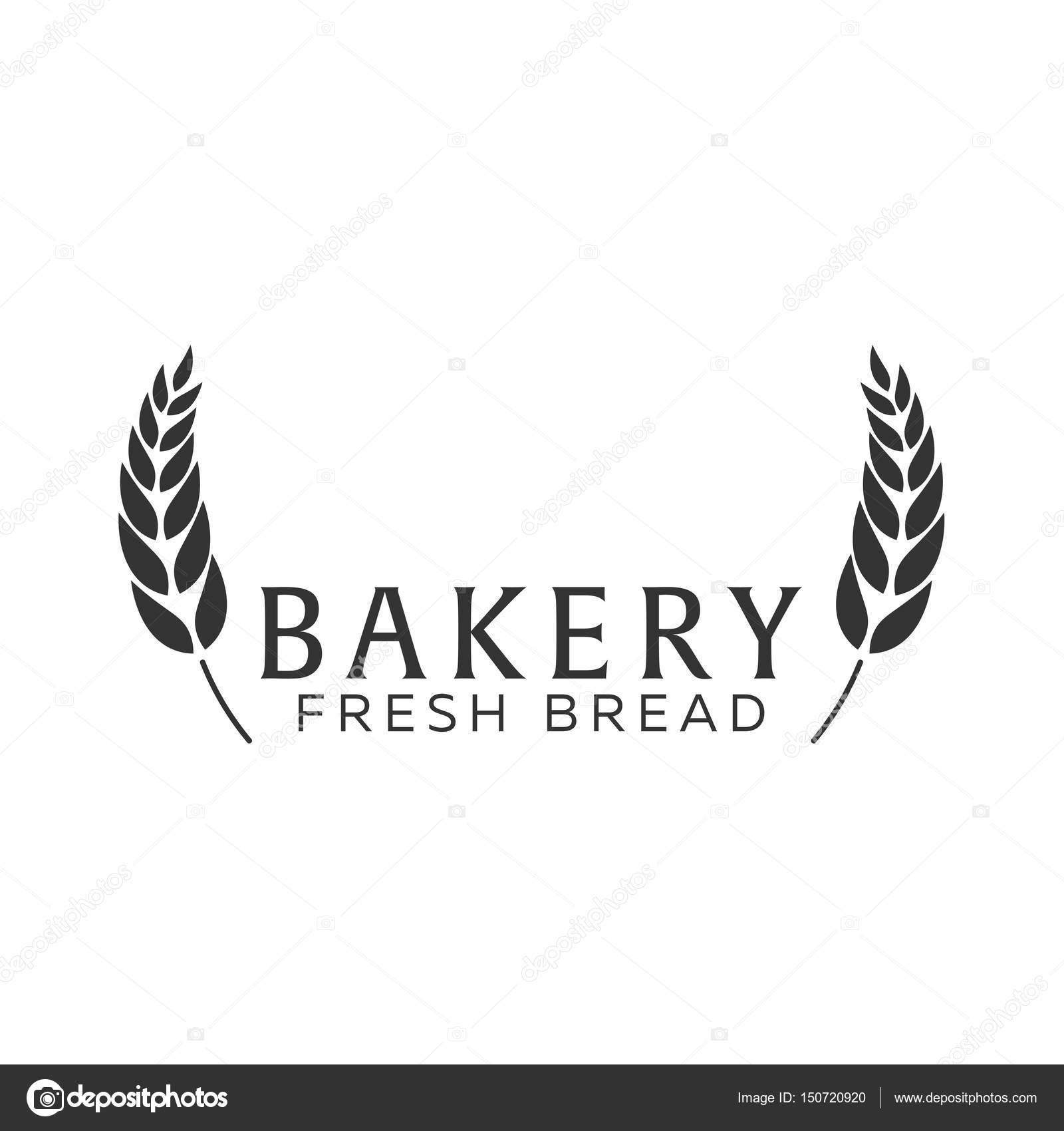 Bäckereiemblem, Etiketten, Logo und Designelemente