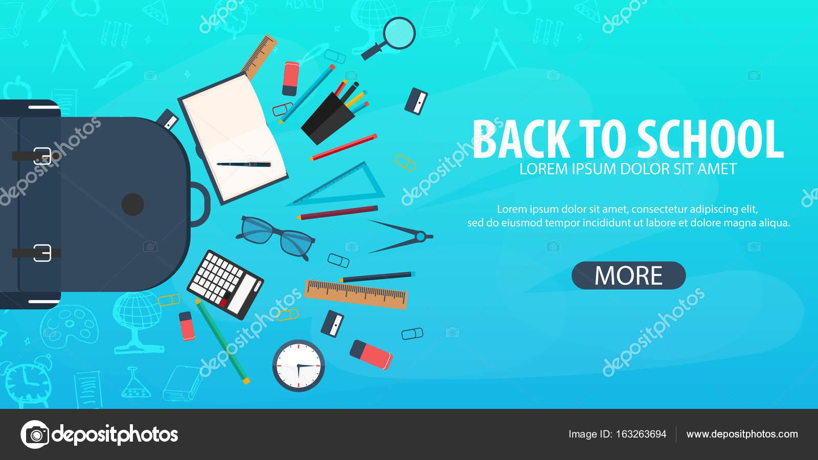 Images Education Banner Back To School Background Education Banner Vector Illustration Stock Vector C Leo Design 163263694