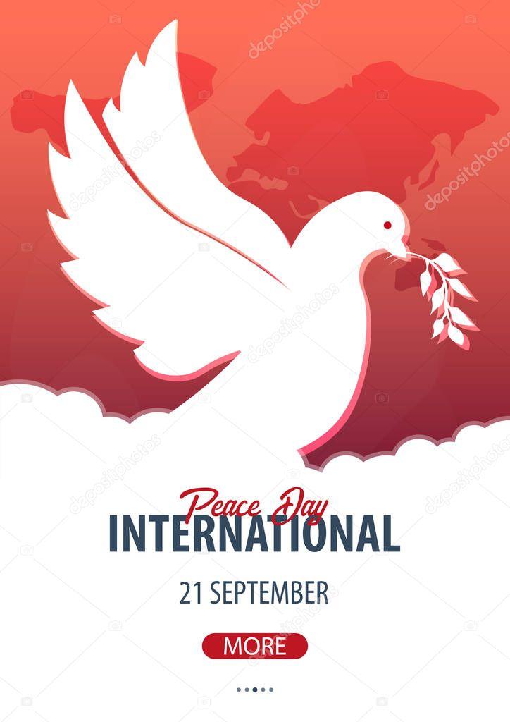 Открытки, международный день мира картинки плакат