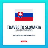 Reisen Sie in die Slowakei. Entdecken Sie und erforschen Sie neue Länder. Abenteuer-Reise