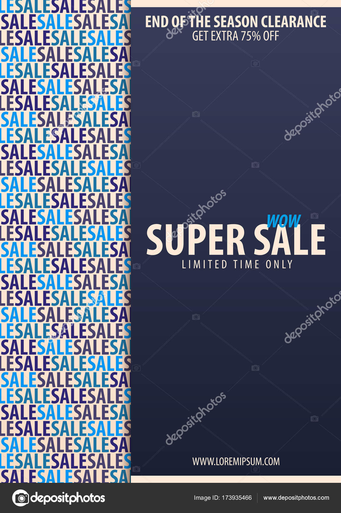 sale poster or flyer design discount background for the online