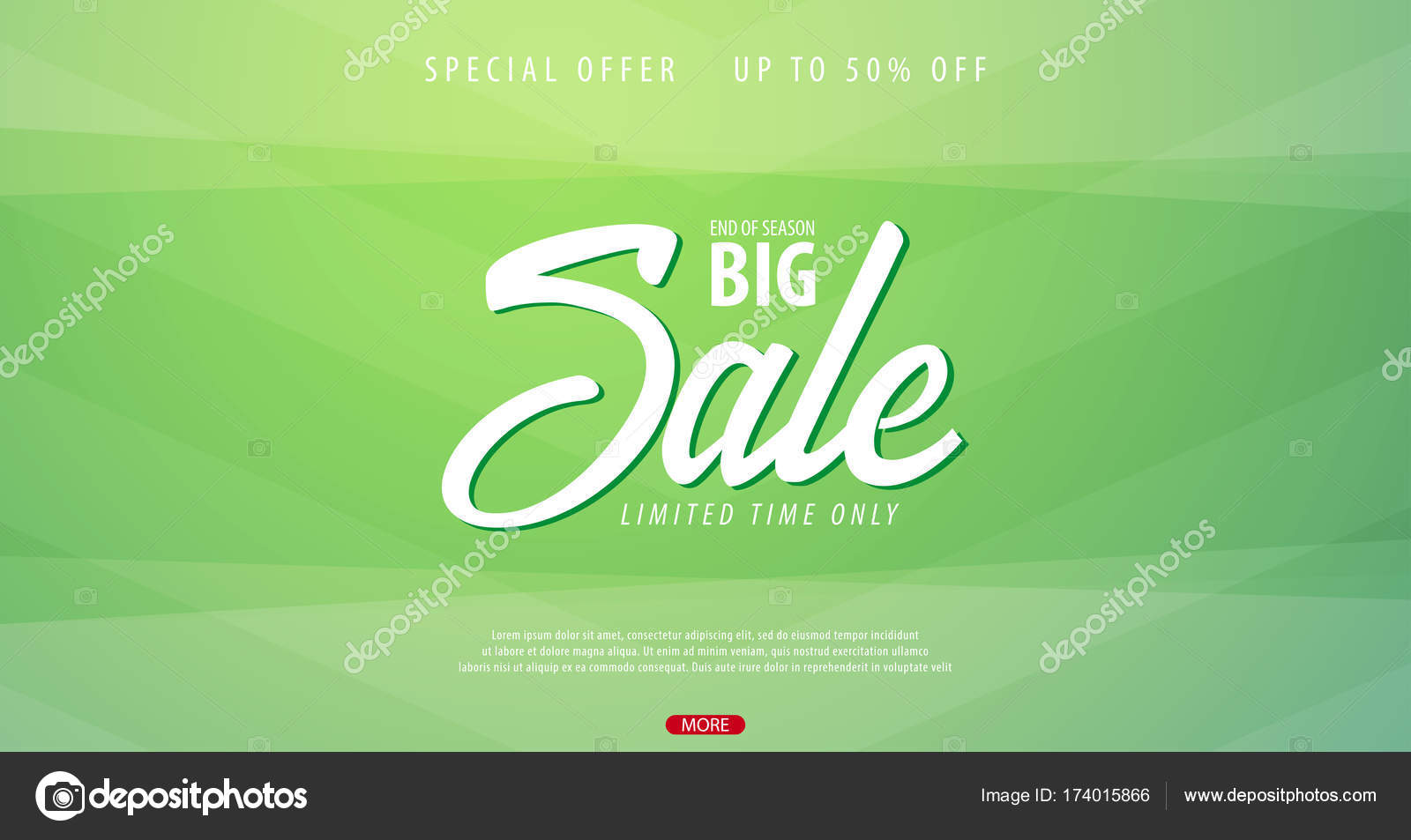 Sale Banner Or Flyer Design With Gifts Discount Background