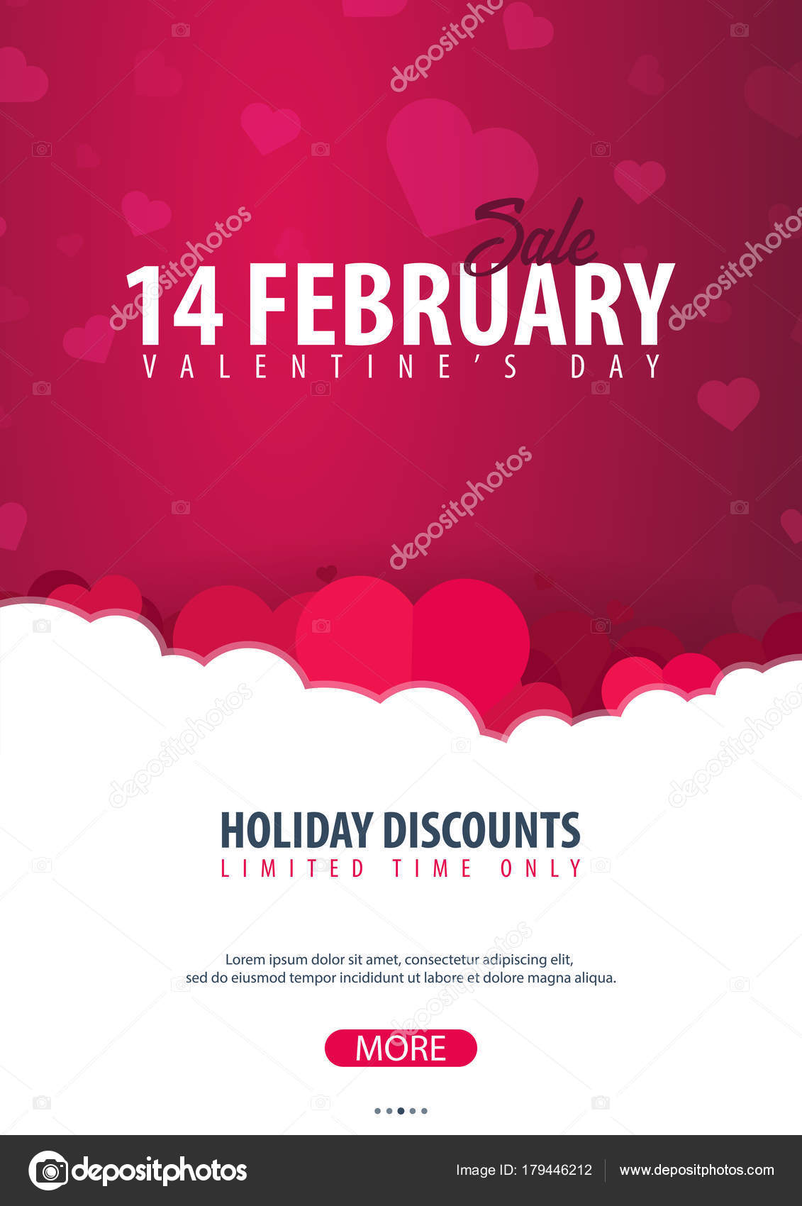 Valentines Day Sale Poster And Background Wallpaper Flyers