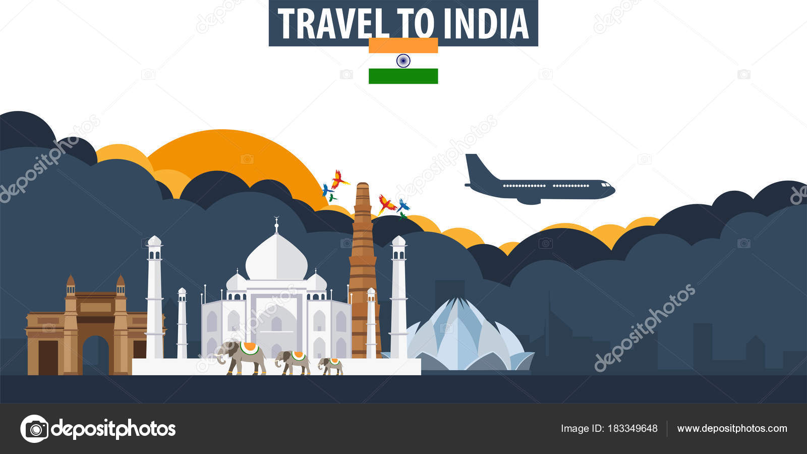 Tourism India Banners Republic Day Banners