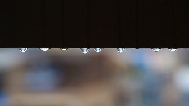 Esőcseppek, vízcseppek buborékok a sötét háttér