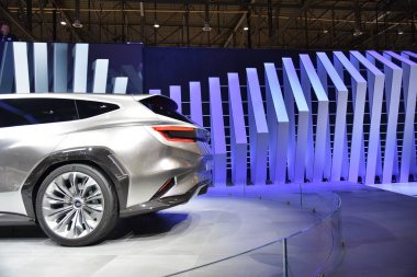 Geneva, Switzerland, March 06-2018: Subaru Viziv Tourer Concept at GIMS