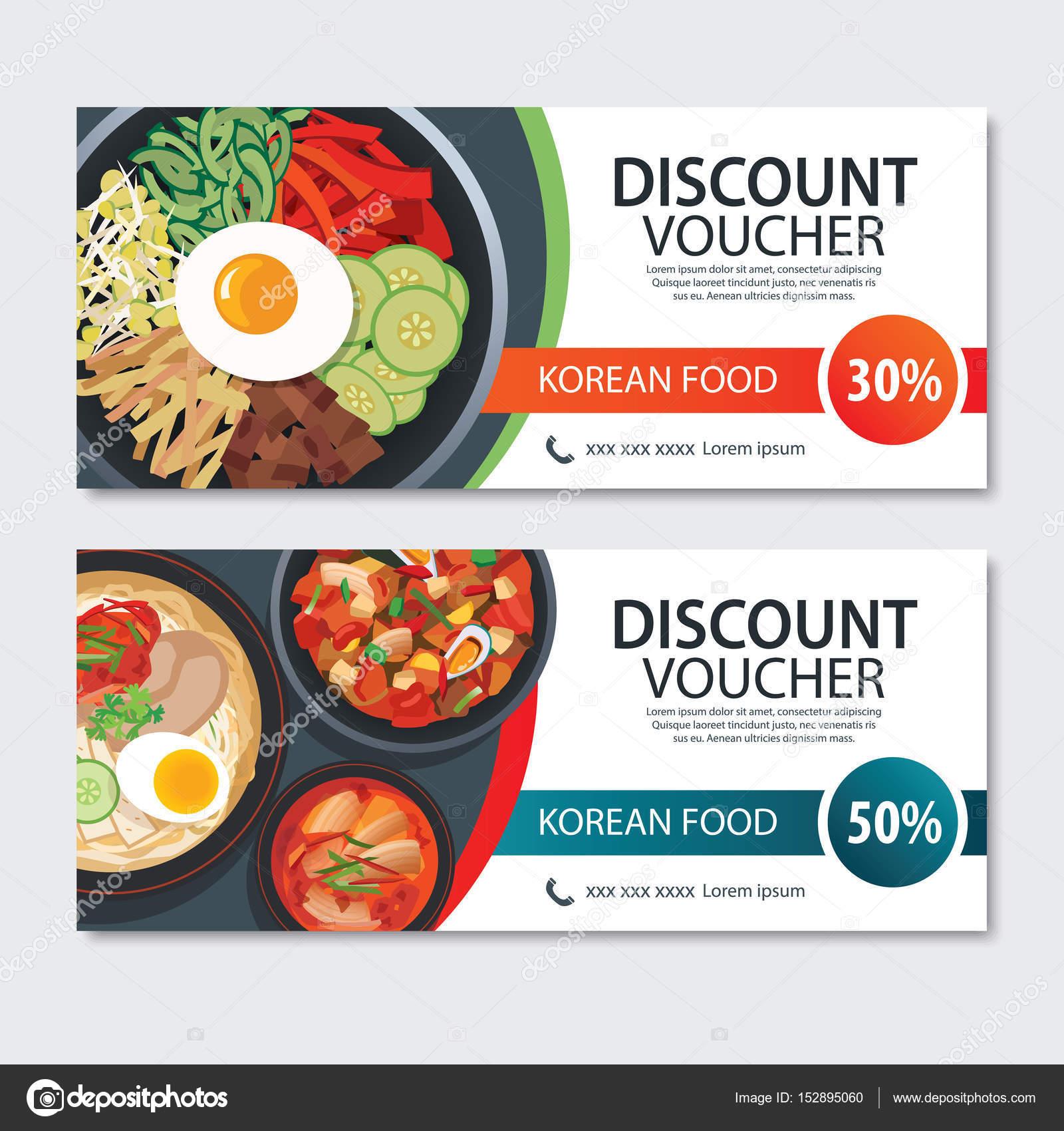 food voucher template