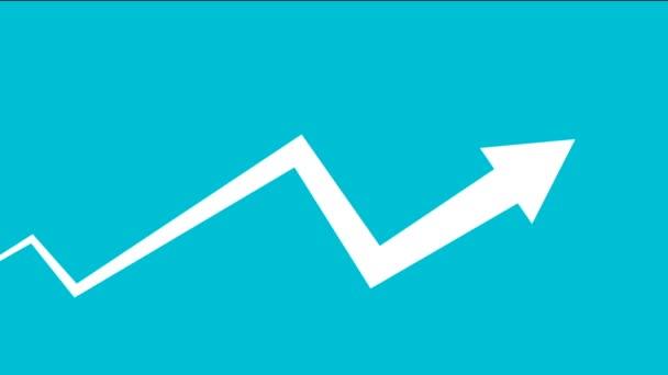 Podnikatel jsou rádi za ceny bitcoin nahoru. Koncept tržní kryptoměn. Plochá kreslených postav