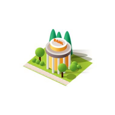 Vector isolated bank
