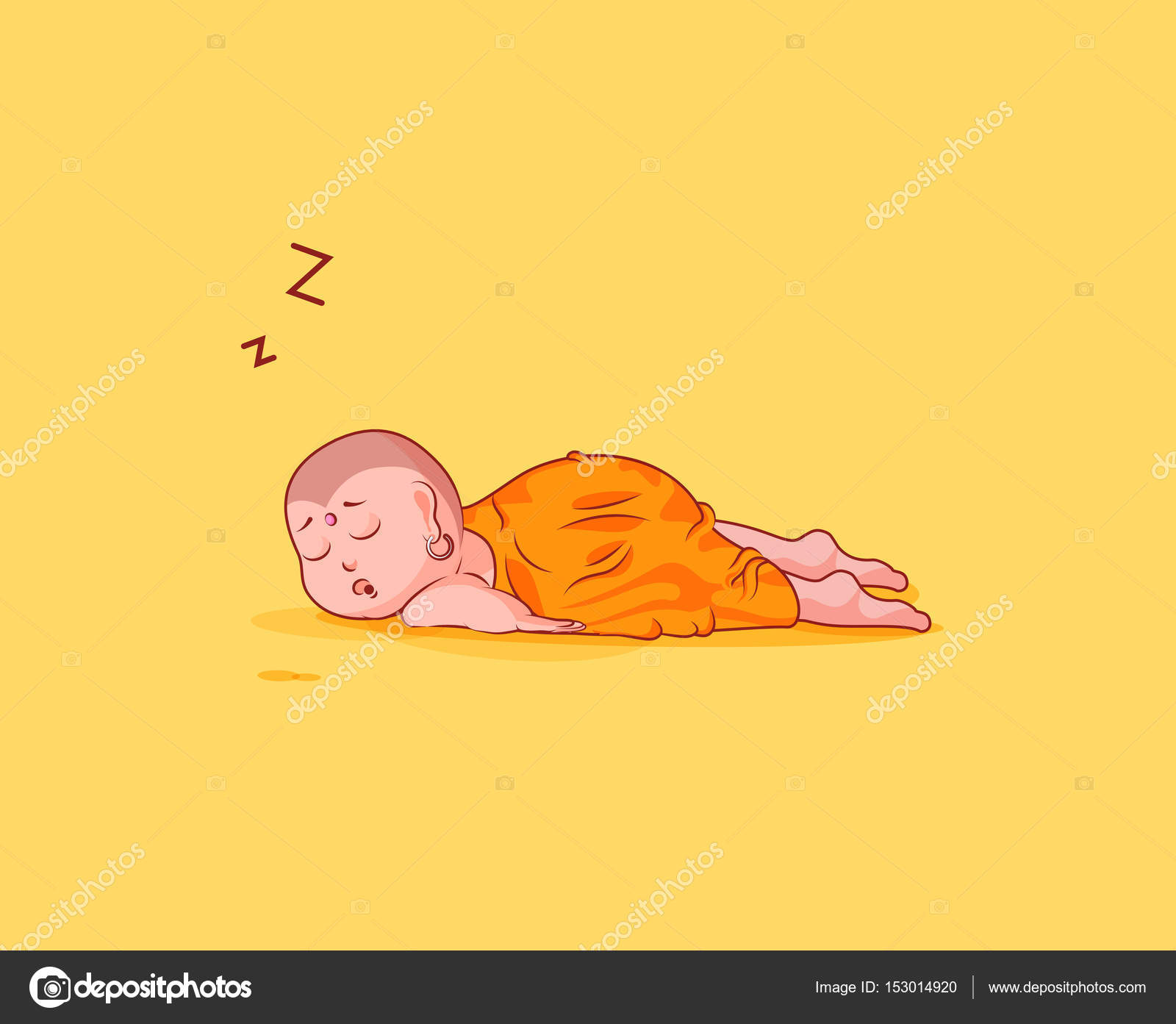 Sticker emoji emoticon emotion vector isolated illustration sticker emoji emoticon emotion vector isolated illustration unhappy character cartoon buddha sleeps on the stomach biocorpaavc Image collections