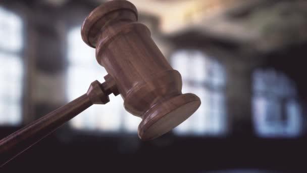 Judges Hammer Wood - Slow Motion