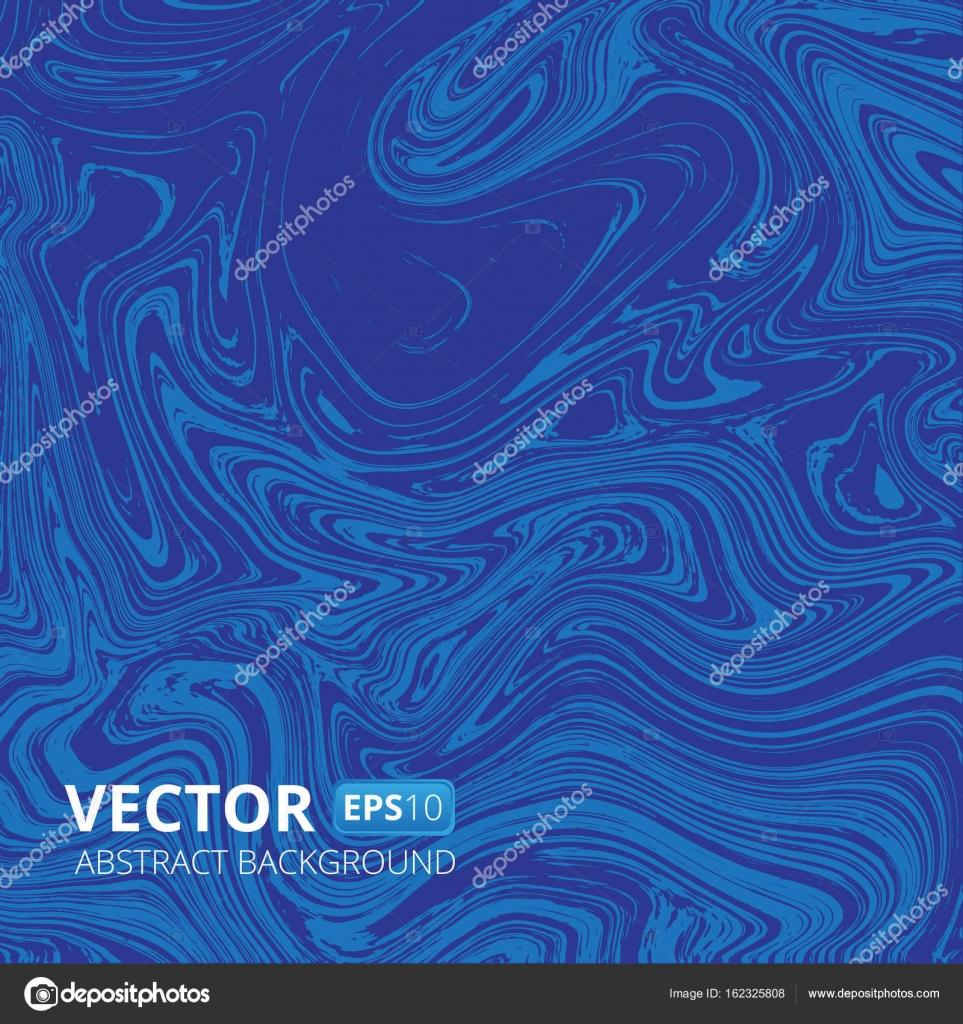 Marbre Bleu Ou Acrylique Texture Vecteur Imitation Abstrait