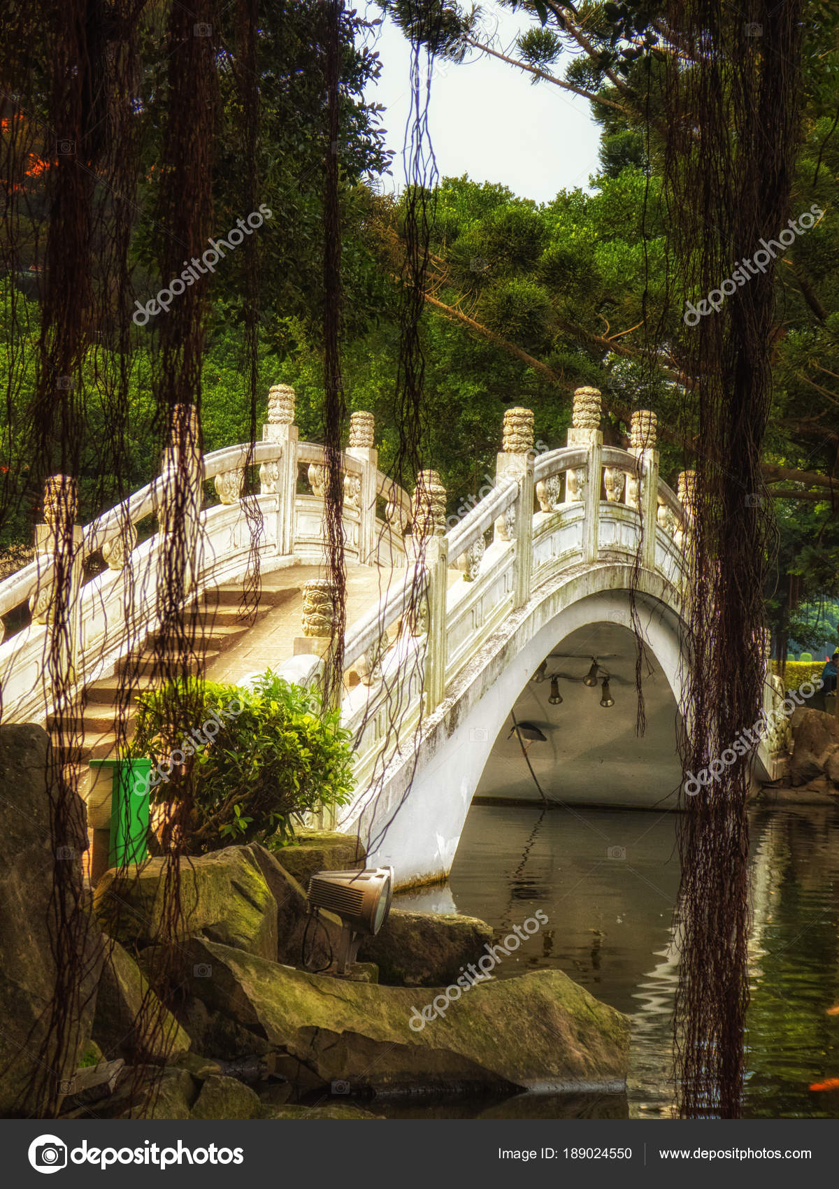 Bridge In Liberty Square (also Freedom Square) Garden, Taipei, Taiwan U2014  Photo By Atosan