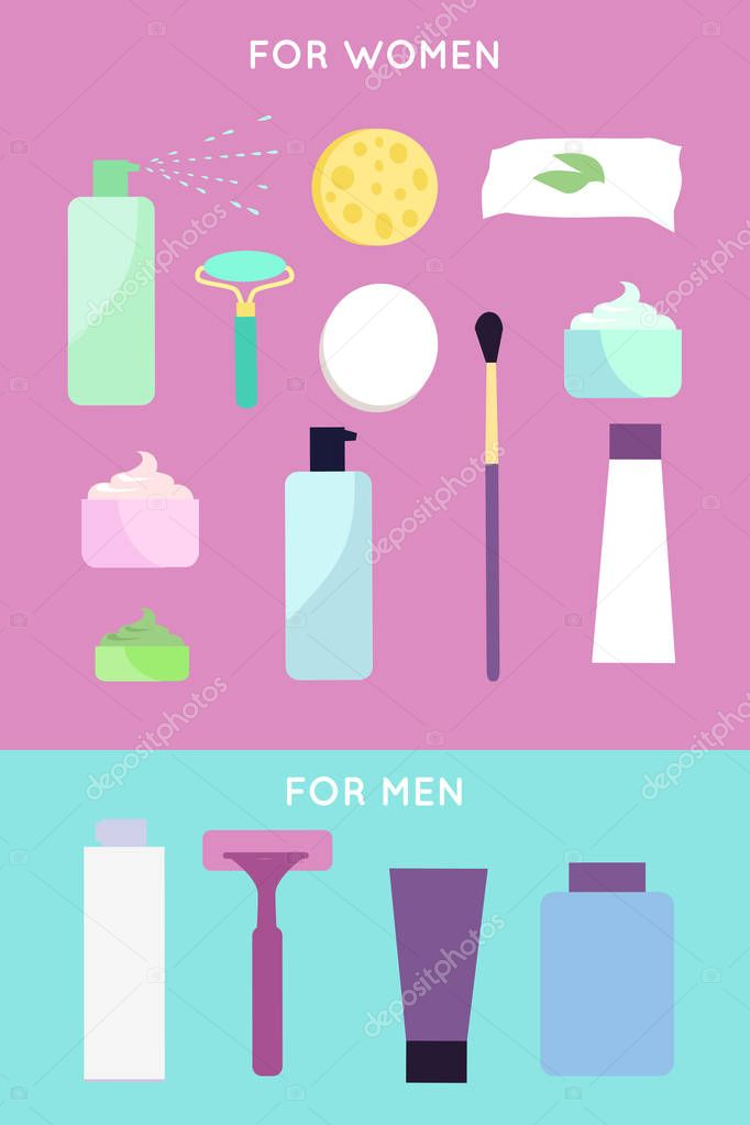 Elements for girls and boys face wash