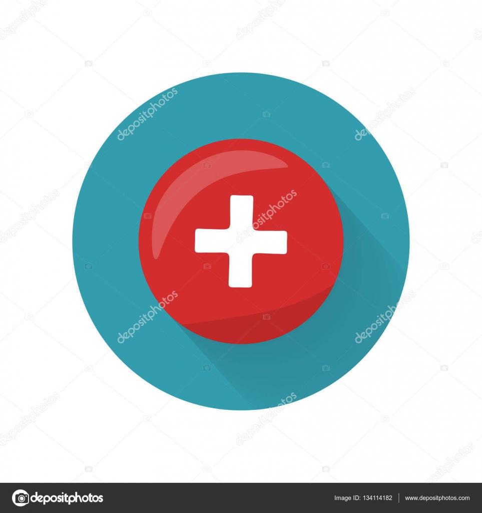 Kreuz-Symbol anklicken. Erste medizinische Hilfe Zeichen ... | {Rotes kreuz symbol 51}