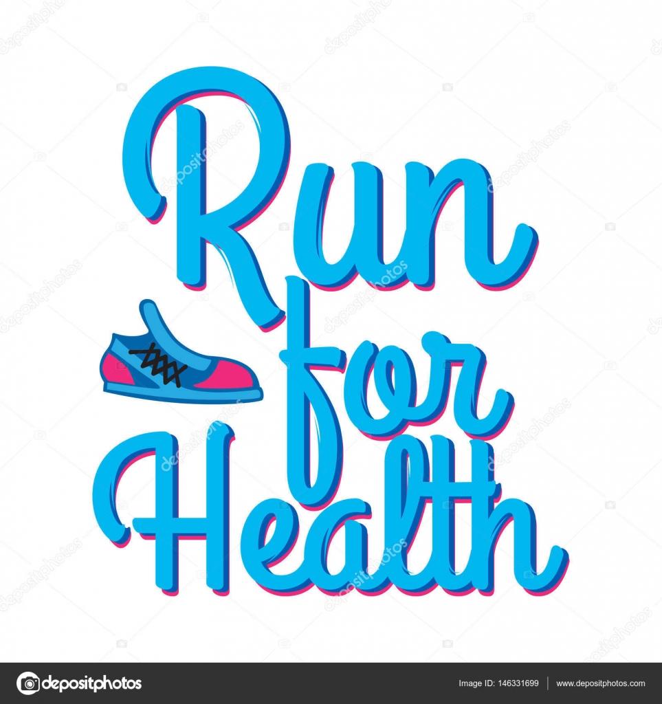 Corra Para A Saúde Credo De Lema Com Esporte Tênis