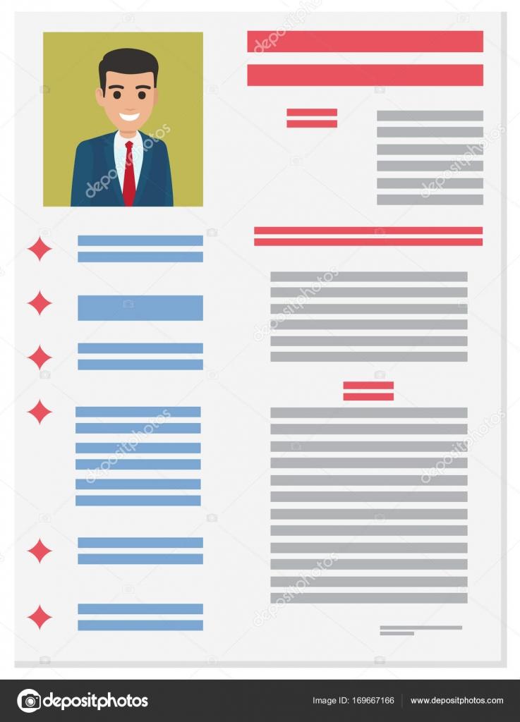 Formulario de solicitud de trabajo del empresario. Curriculum Vitae ...