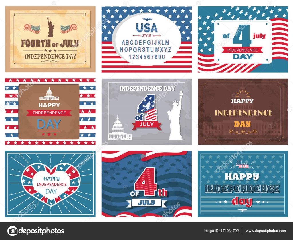 American national holiday 4th of july greetings stock vector american national holiday 4th of july greetings stock vector m4hsunfo
