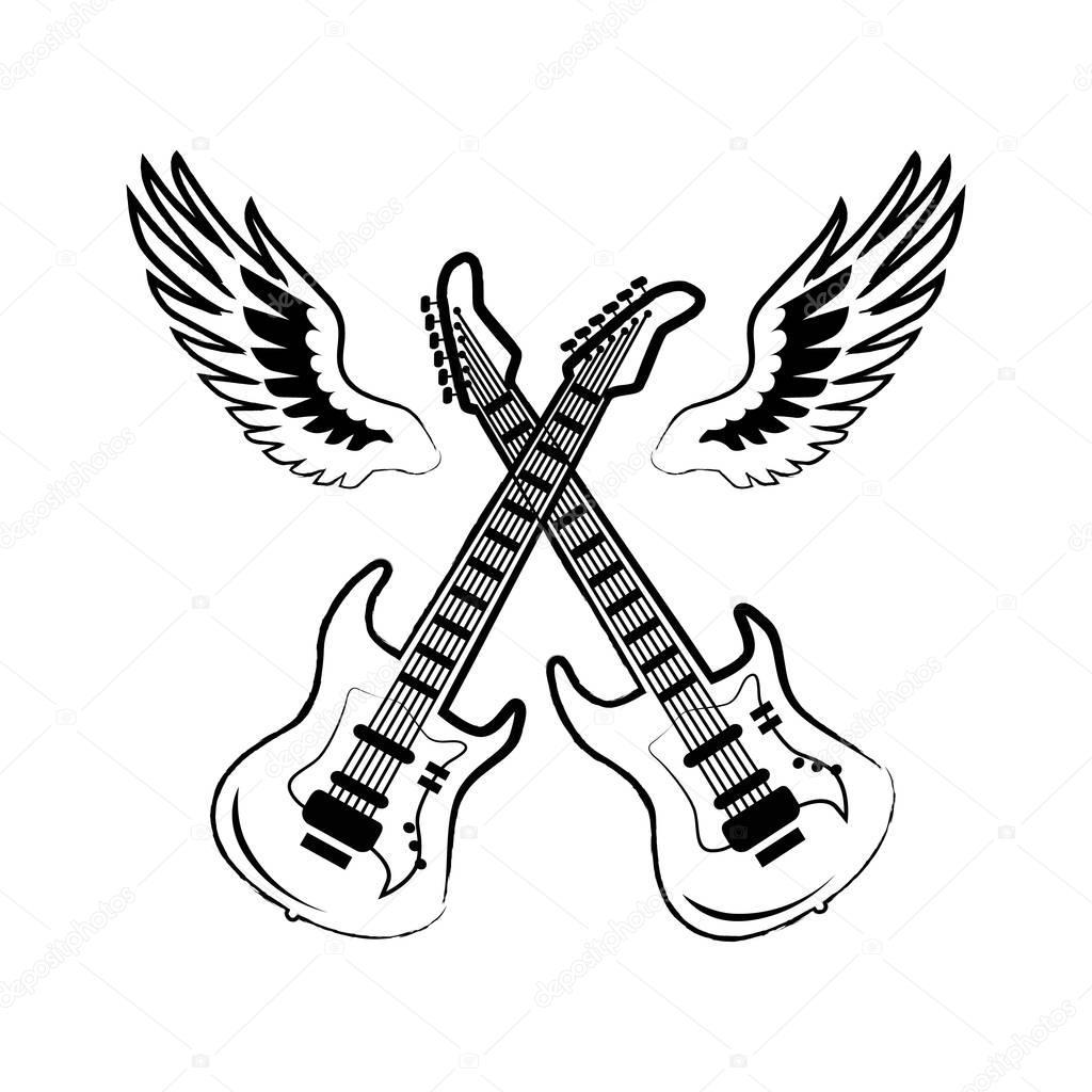 im u00e1genes  guitarras electricas cruzadas