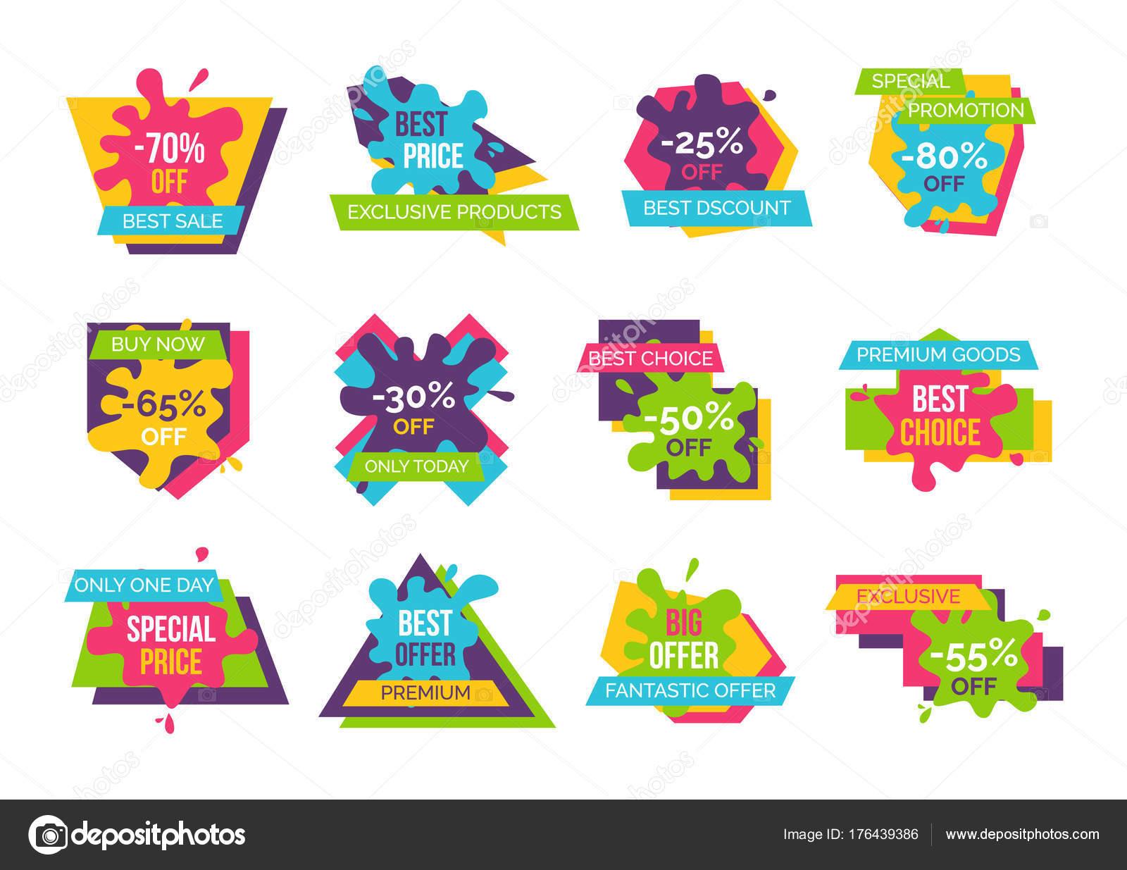 a6247c1c3817a Ilustración de Vector de productos exclusivos de mejor precio ...