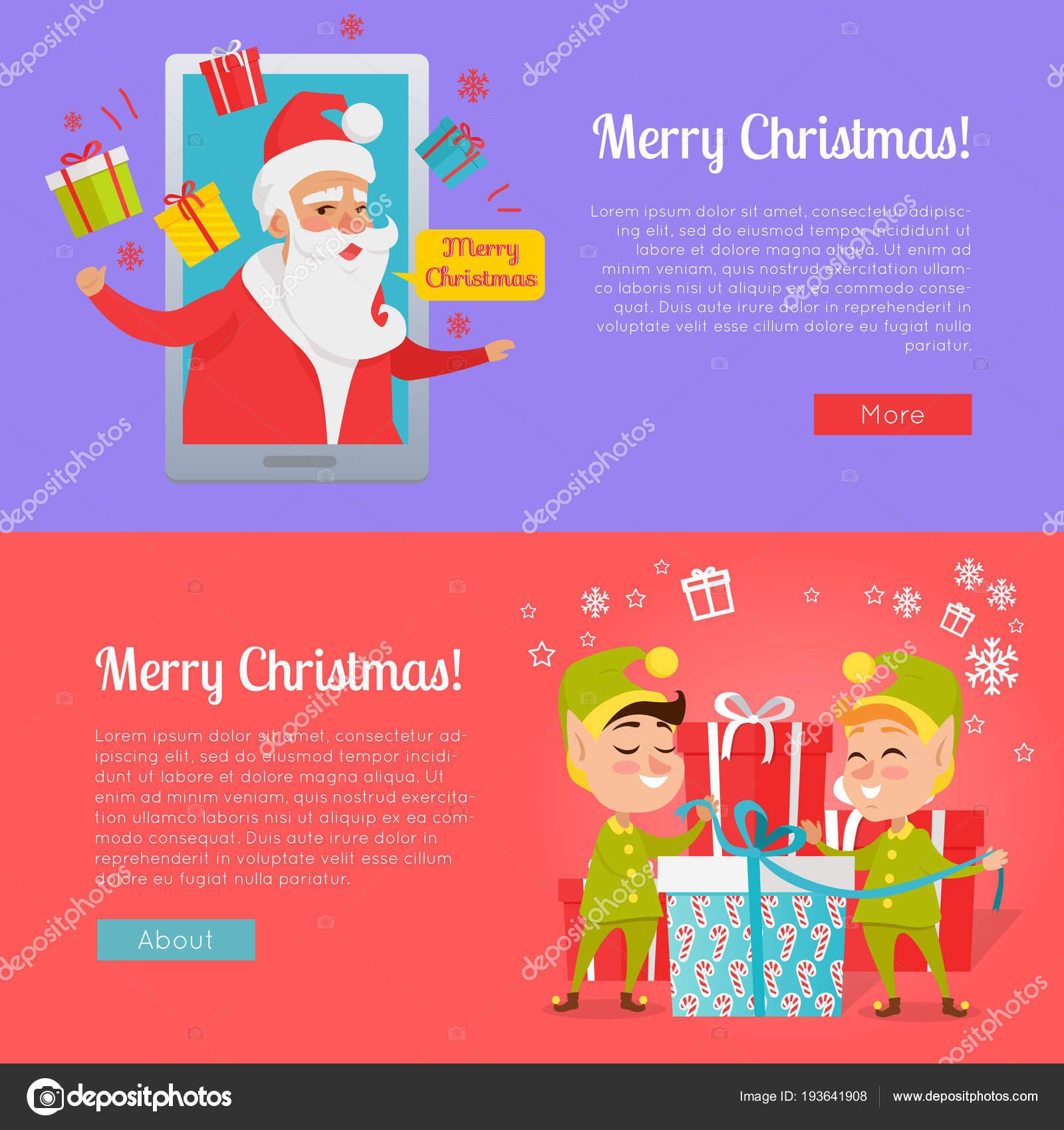 Weihnachtsbilder Verschicken.Plakat Der Bunte Frohe Weihnachtsbilder Stockvektor Robuart