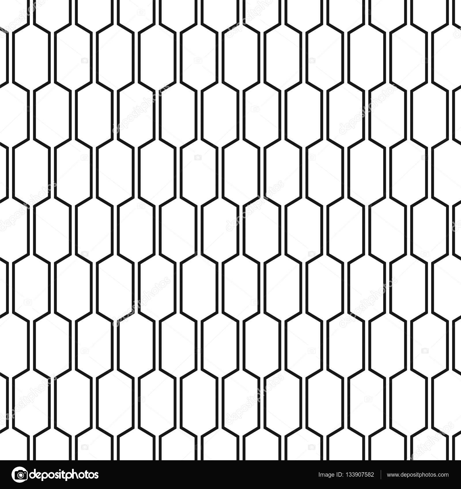 Textura de panal hexágono vinculados. Patrón geométrico abstracto ...