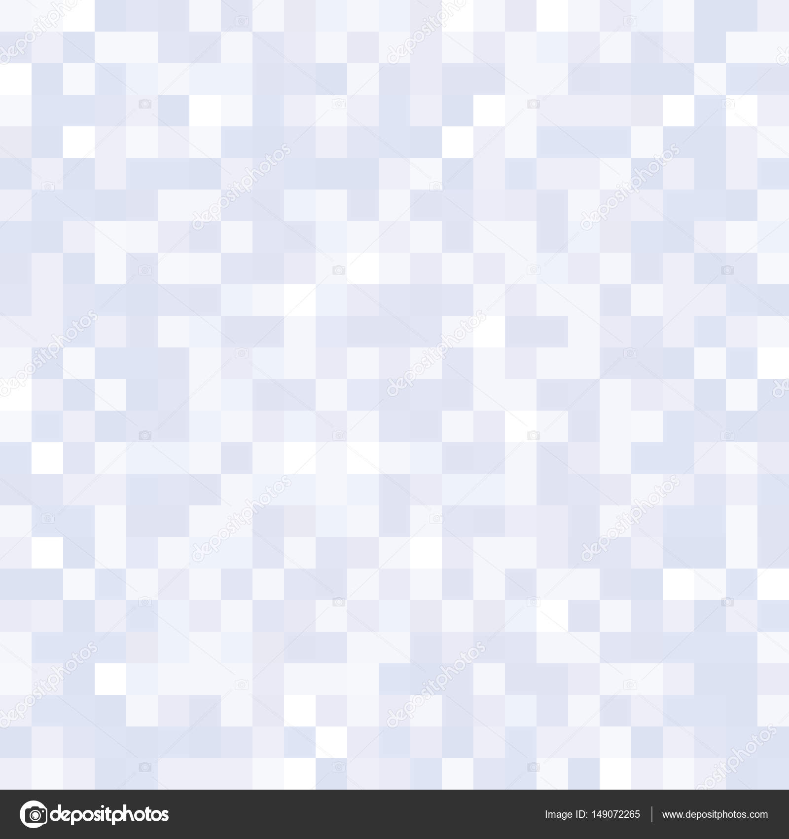 Seamless Pixelated Snow Texture Mapping Background For