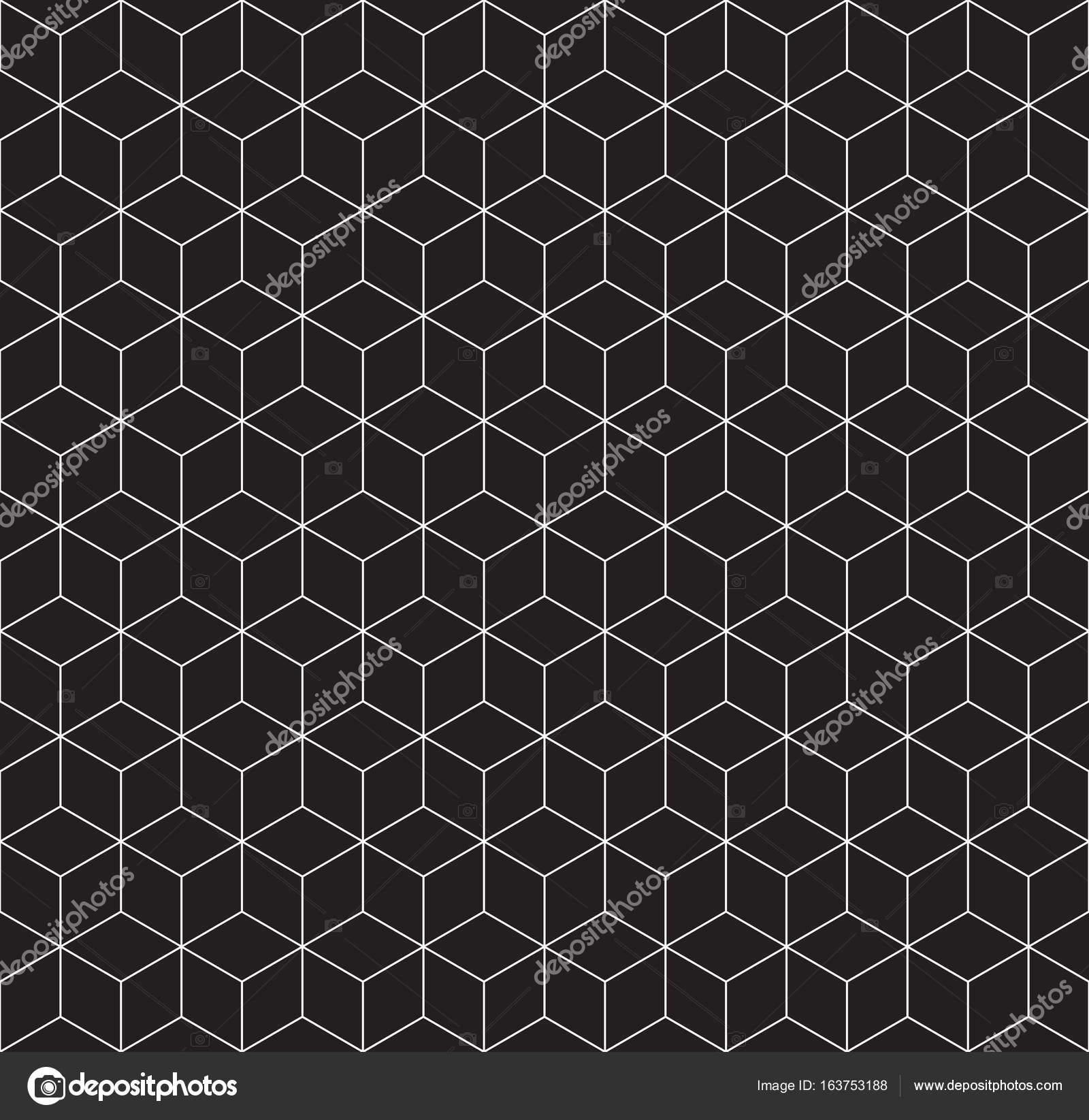 3d Drahtgitter Cube Musterdesign — Stockvektor © raymondgibbs #163753188