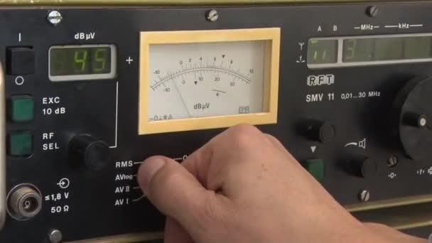 rádióelektronikai mérőberendezés, oszcilloszkóp