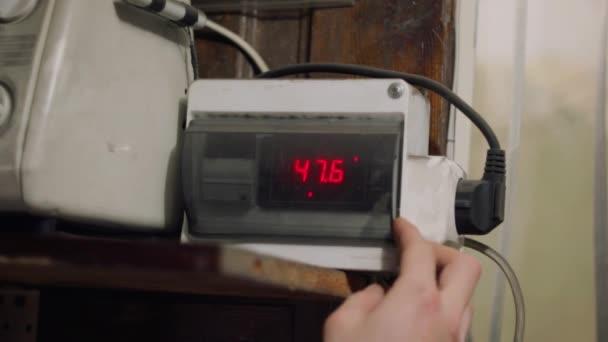 A sütő hőmérsékletszabályozójának programozása