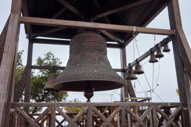 The bell next to the Church in Chersonesos,on the site of the ancient city.